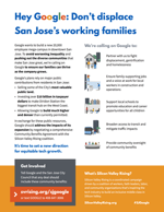 Hey Google: Don't displace San Jose's working families
